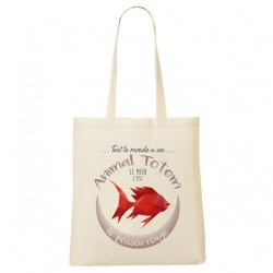 Tote Bag ANIMAL TOTEM Poisson