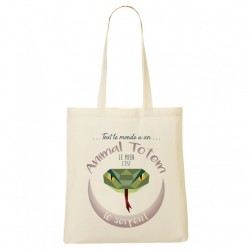 Tote Bag ANIMAL TOTEM Serpent