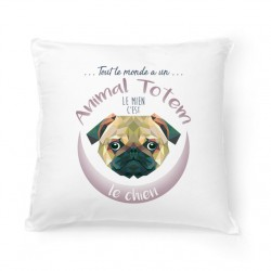 Coussin ANIMAL TOTEM Chien