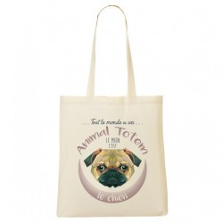 Tote Bag ANIMAL TOTEM Chien