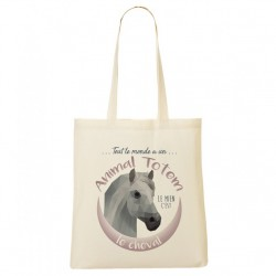 Tote Bag ANIMAL TOTEM Cheval