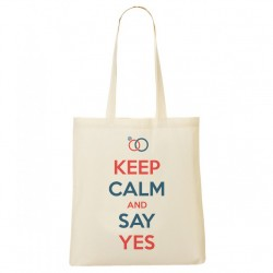 Tote Bag KEEP CALM AND SAY YES