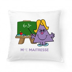 Coussin Mme Maîtresse