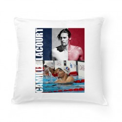 Coussin Camille Lacourt