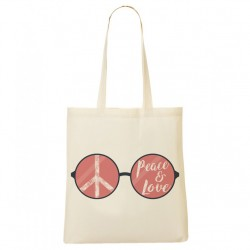 Tote Bag Peace & Love