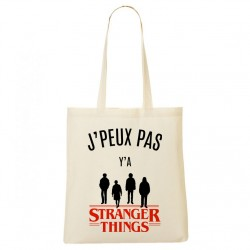 Tote Bag J'peux pas y'a Stranger Things