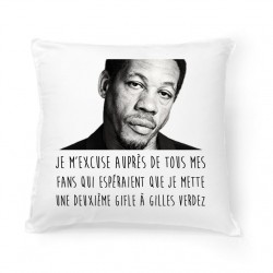 Coussin Joey Starr je m'excuse
