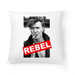 Coussin David Bowie Rebel
