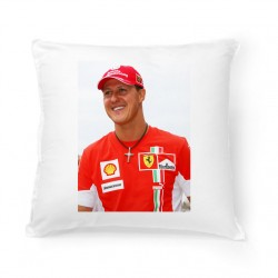 Coussin Fan de ... Michael Schumacher