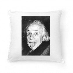 Coussin Fan de ... Albert Einstein
