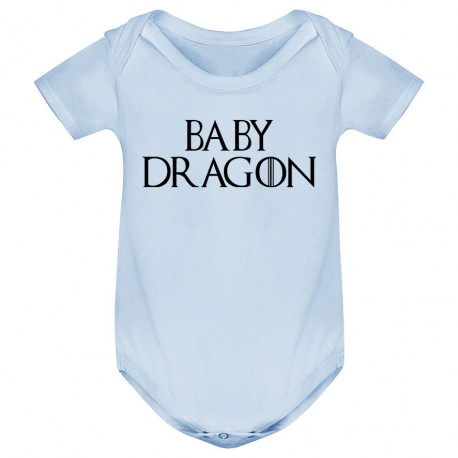 Body bébé Baby dragon - bleu