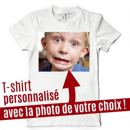 t shirt personnalis avec la photo de votre choix ketshooop t shirts anniversaires rigolos. Black Bedroom Furniture Sets. Home Design Ideas