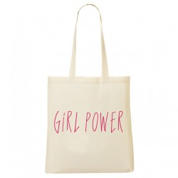 Tote Bag Girl Power Rock